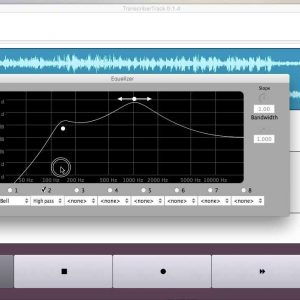Learn to play your favorite songs with TranscriberTrack