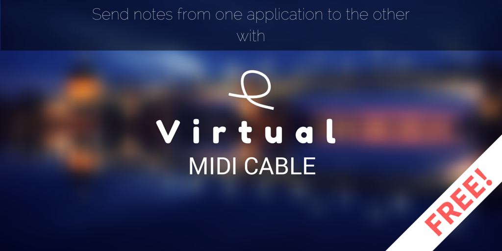 virtual midi cable header